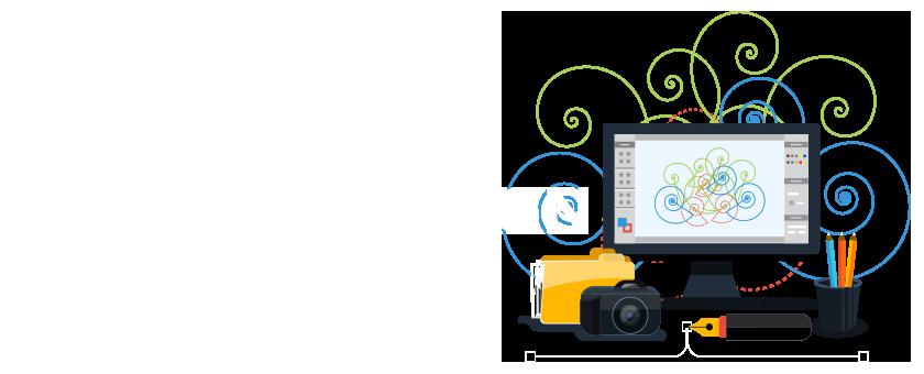 French Press Marketing Graphic Design